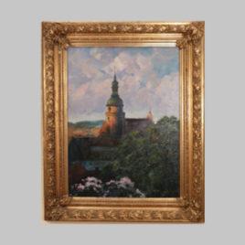 Unbekannte/r Künstler/in, Kirche in Znaim, um 1880