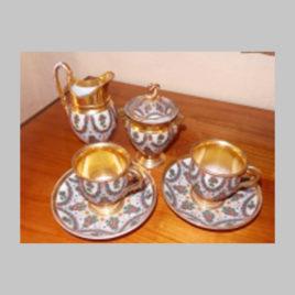 Geschirr-Set für Tee und Kaffee
