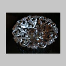 Silberne Schale