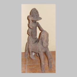Afrikanischer Reiter