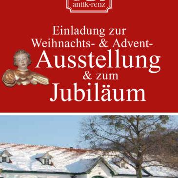 Weihnachts- & Adventsausstellung / 25 Jahre Jubiläum Antik Renz