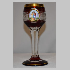 Pokal mit Medaillonmalerei