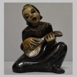 Mandolinespielerin
