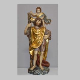Heiliger Christopherus mit Christuskind