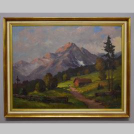 Eduard Gerersdorfer, Gebirgslandschaft, 1946