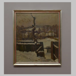 Joszef Kerekes, Winterliche Landschaft, 20. Jh.