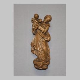 Madonna mit Kind; hängende Skulptur