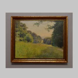 Anton Filkuka, Sommerliche Landschaft, 1. H. 20. Jh.