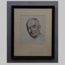 Josef Dobrowsky, Herrenporträt, 20. Jh.