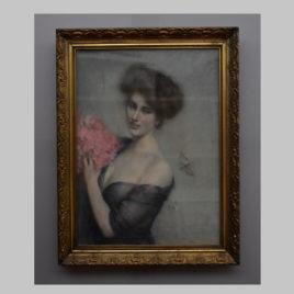 Clemens von Pausinger, Damenporträt, 1901