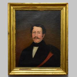 Unbekannte/r Künstler/in, Herrenporträt, 19. Jh.
