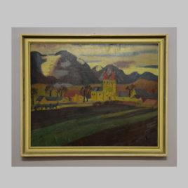 Rudolf Holzinger, Dorflandschaft, 1. H. 20. Jh.