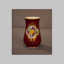Vase mit Blumenbukett, Meißen