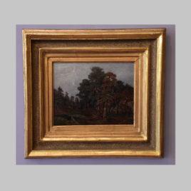 Unbekannte/r Künstler/in, Almlandschaft, um 1890