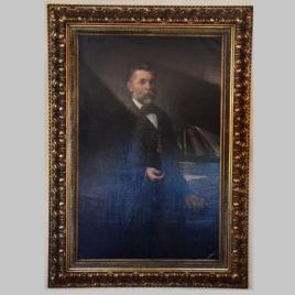 Unbekannte/r Künstler/in, Herrenporträt, 2. H. 19. Jhd.