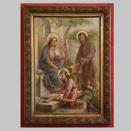 Unbekannte/r Künstler/in, Die Heilige Familie, 2. H. 19. Jhd.