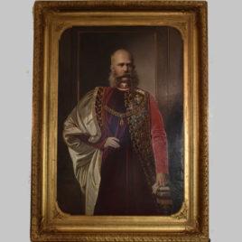 Lorenz Allgayer, Kaiser Franz Joseph I. von Österreich, 1882